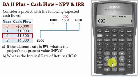 cash flow valuation