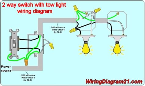light switch wiring diagram house electrical