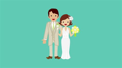 Wedding Animation Image by Animation Hd 1080 Stock