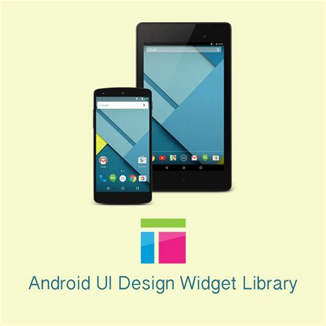 android library axure android ui design widget library ux design today