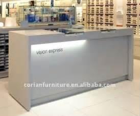 retail front desk furniture ct 134 retail shop corian built lighted wood front desk