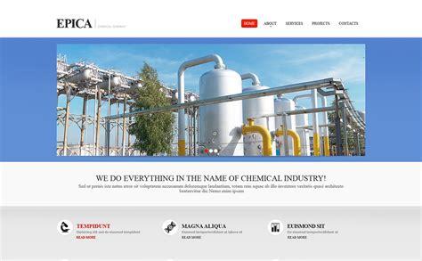 Industrial Responsive Website Template 46145 Industrial Responsive Website Templates Free