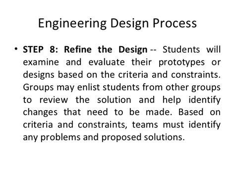 design criteria engineering engineering design process