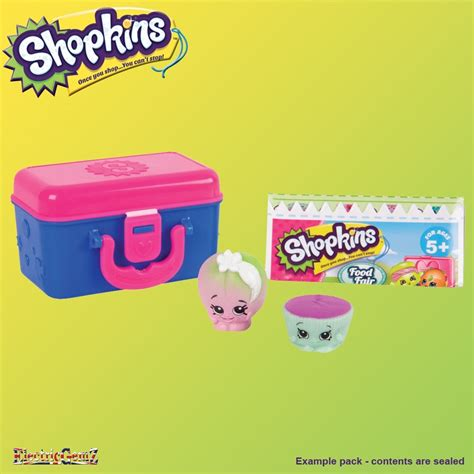 Lunch Box 2 shopkins series 7 lunch box 2 pack