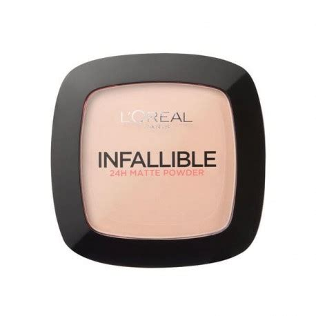 L Oreal Infallible Powder loreal infallible matte puder matuj艱cy puder loreal
