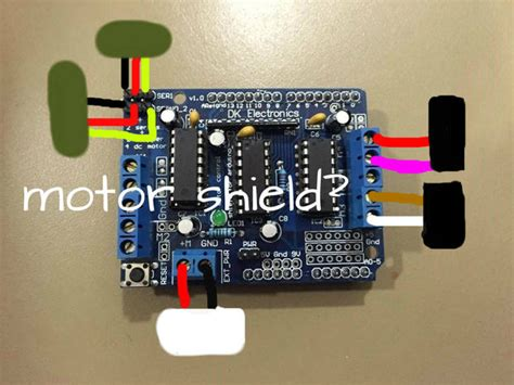 arduino motor shield dk electronics adafruit motor shield tutorial