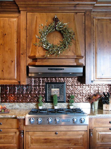 Tin Tiles For Kitchen Backsplash by The Gathering Place Design Kitchen Backsplash Makeover