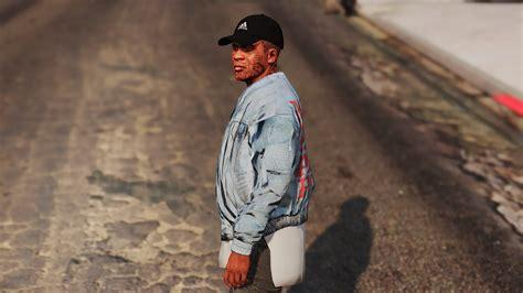 Pablo Denim Jacket of pablo denim jacket gta5 mods