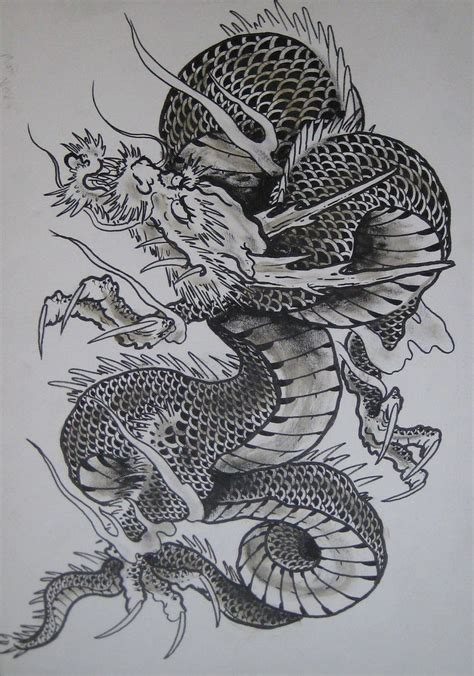 japanese water dragon tattoo designs japanese 2 by clarknorth dragons