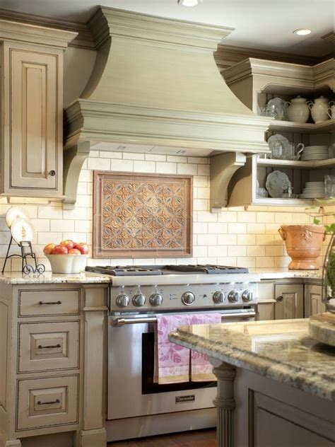 decorative kitchen hoods both functional and beautiful - Country Kitchen Range Hoods