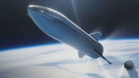 Spaceship Rocket elon musk and spacex are getting rid of the bfr and