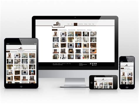 responsive layout zoom responsive web design for a custom concrete company