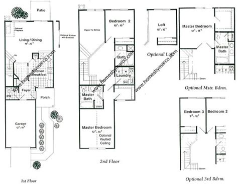ryland townhomes floor plans ryland townhomes floor plans marion model in the briargate