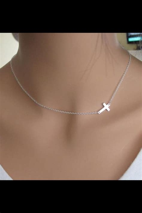 silpada simplex cross necklace jewels