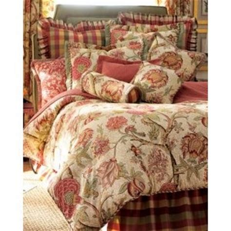 rose tree symphony bedding comforter set pic 7 bed