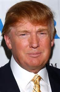 donald hair color