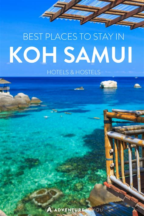 koh phangan best place to stay where to stay in koh samui top hotels hostels