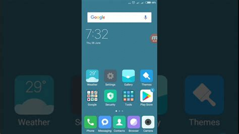 lock home screen layout  redmi  note  youtube