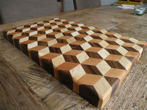 3d end grain cutting board plans 187 woodworktips