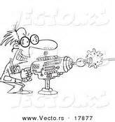 laser gun coloring page laser guns