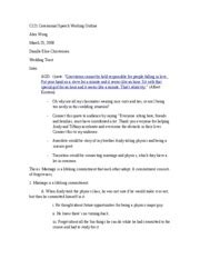 Pro Marriage Speech Outline by Alex Wong Ceremony Speech Outline C121 Ceremonial Speech Working Outline Alex Wong Danille