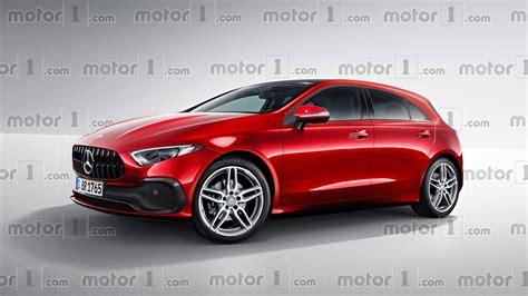 mercedes a class new mercedes a class render transforms sedan concept into