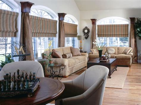 window treatment ideas for large living room window fresh window treatment ideas hgtv