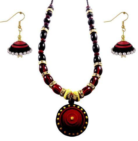 Buy Handmade Jewellery - buy handmade paper jewellery and quilling necklace set