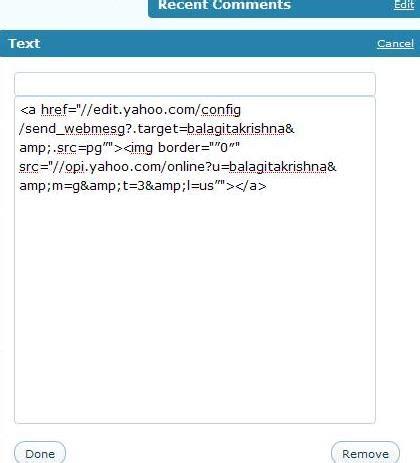 bagaimana membuat yahoo messenger bagaimana cara memasang yahoo messenger di blog wordpress