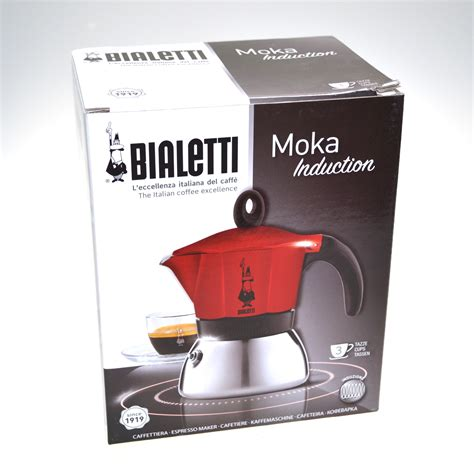 induction hob coffee maker new 6 cup bialetti moka induction espresso coffee maker percolator stove top ebay