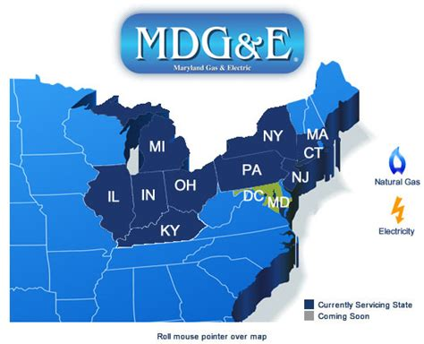map of maryland electric utility maryland gas electric products services service areas