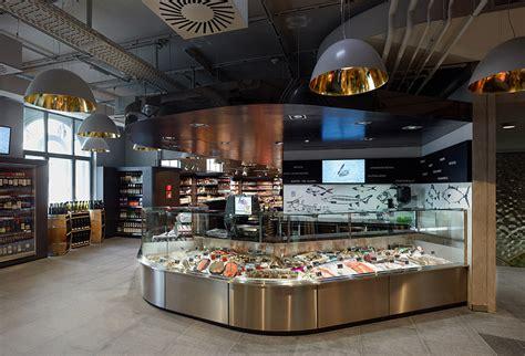 supermarket interior design amazing supermarket in vienna commercial interior design
