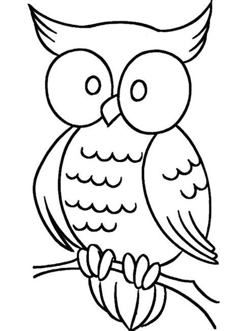 simple owl coloring pages owls for baby edward 2016