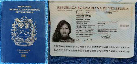 precio para sacra el pasaporte en venezuela mi viaje desde venezuela a chile por tierra parte 1