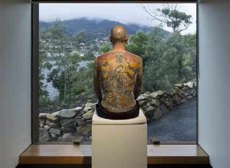 tattoo prices hobart art collector to frame wim delvoye tattoo after man dies