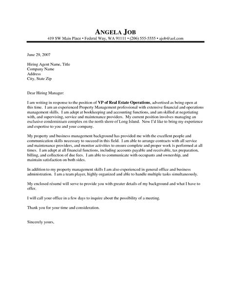 cover letter for asset management position asset management cover letter cover letter sles