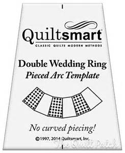 Wedding Ring Quilt Templates by Quiltsmart Wedding Ring Template No Curved