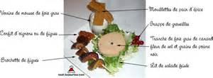 comment d 233 corer assiette foie gras