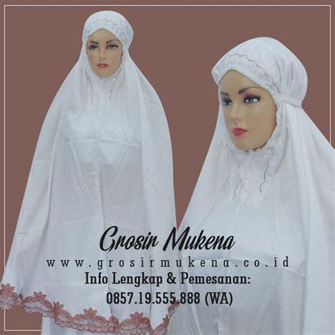Grosir Mukena Tasik ciri khas mukena border tasik yang bagus dan nyaman dipakai