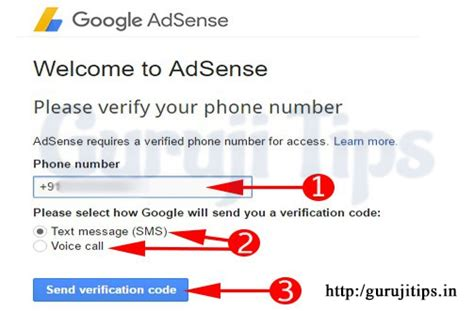 adsense verify phone number adsense account kaise banaye full guide for beginners