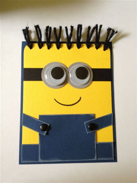 Minion Gift Card - despicable me minion card bob despicable me party pinterest