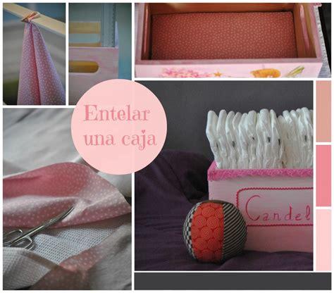 como decorar cajas de carton con tela para bebes tutorial para forrar una caja de madera con tela