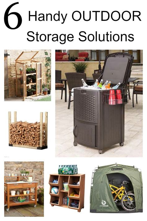 backyard storage solutions 6 handy outdoor storage solutions storage outdoor