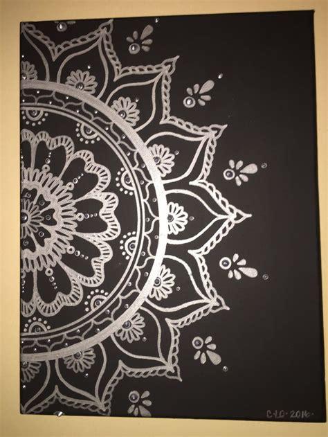 acrylic paint on black canvas best 25 black canvas paintings ideas on black