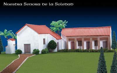 Mission San Diego De Alcala Floor Plan Missions Of California Nuestra Senora De La Soledad