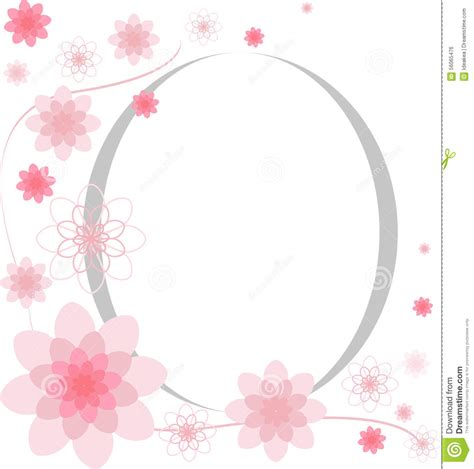 eyeglasses birthday card template flower frames greeting card design stock vector