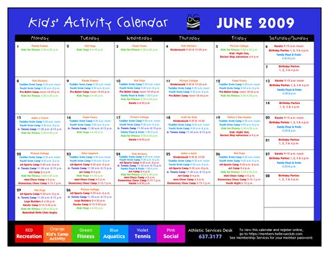 100 daily activity schedule template daily schedule