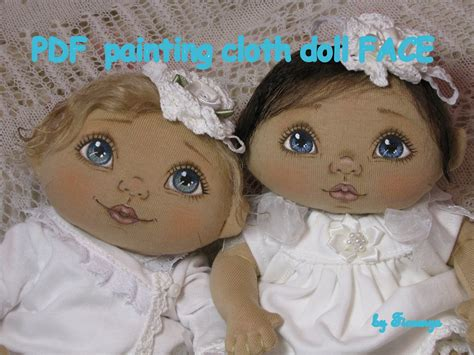 painting doll pdf painting cloth doll tutorial how i paint my cloth