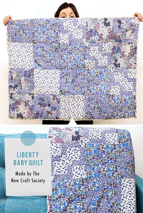 Quilt Uk by Liberty Baby Quilt Caroline Liberty Fabric