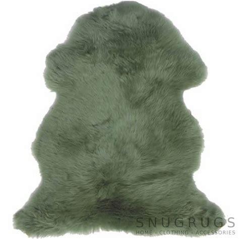 green sheepskin rug green sheepskin rug snugrugs